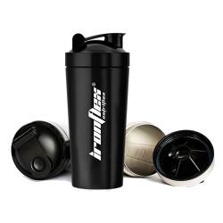 IronFlex - Steel Shaker 750ml black