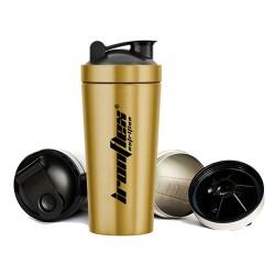 IronFlex - Steel Shaker 750ml gold