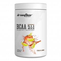 IronFlex - BCAA Performence 2-1-1 400g cola lime
