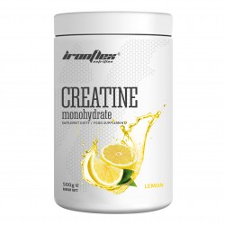 IronFlex - Creatine Monohydrate 500g lemon